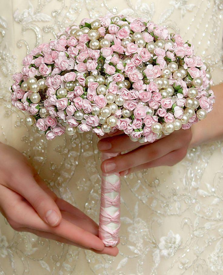 Цветы своими руками на свадебный букет