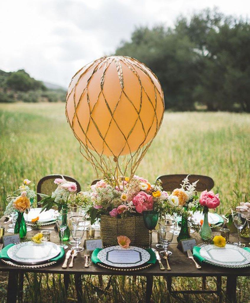 Свадебный воздушный шар